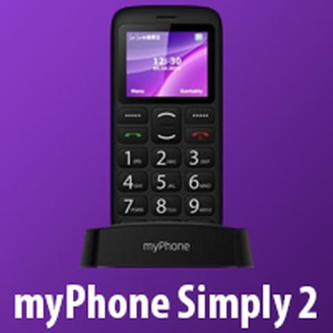 myPhone Simply 2 jako prezent na dzień ojca 2018