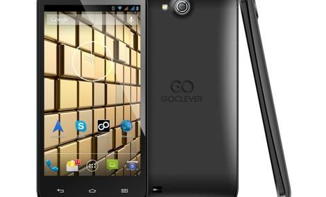 GOCLEVER INSIGNIA 5 - stylowy smartfon z dwoma bateriami