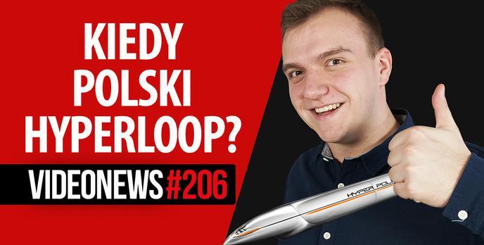 Polski Hyperloop, wyginany laptop, szkodliwe elektryki - VideoNews #206