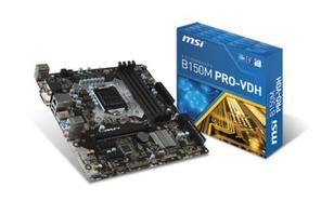 MSI B150M PRO-VDH s1151 B150 4DDR4 USB3 uATX