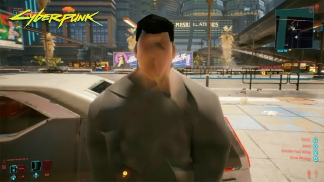 Problemy graficzne Cyberpunk 2077 dotykają wszystkich platform