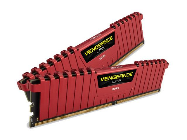 Corsair Vengeance LPX 16GB Red 2x8GB 3000MHz