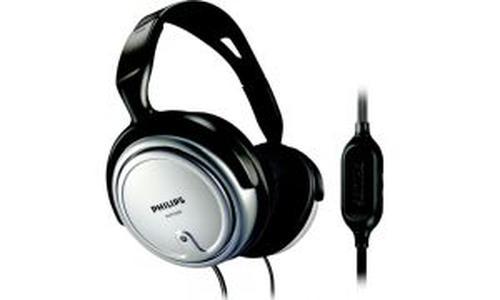 Słuchawki nauszne Philips SHP2500/10 (Srebrny)