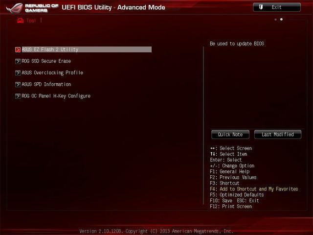 Asus Maximus VI Impact uefi11