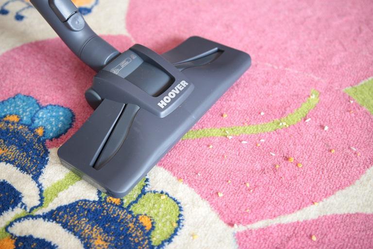 Test końcówki Optimax - zwykły dywan