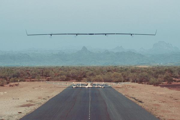 Aquila na pasie startowym