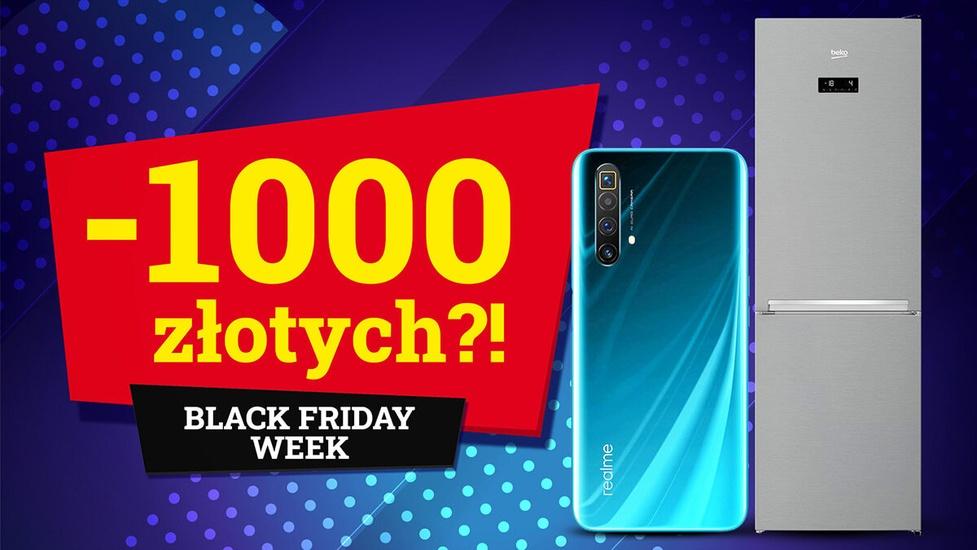 1000 złotych mniej w RTV Euro AGD podczas Black Friday Week!