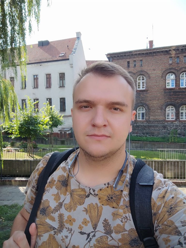 POCO X3 - selfie pod słońce