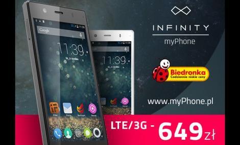 Kolejne Smartfony myPhone w Biedronce