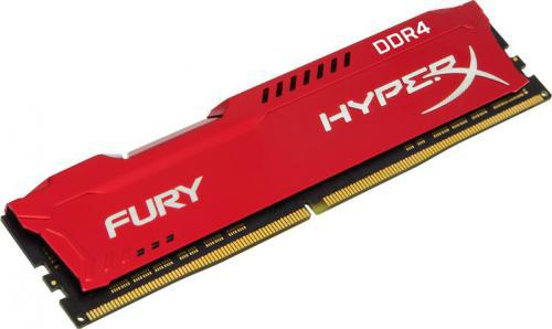 Kingston HyperX FURY Red DDR4 DIMM 16GB 2400MHz (1x16GB) HX424C15FR/16