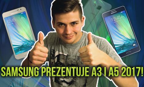 Samsung Prezentuje A3 i A5 2017!