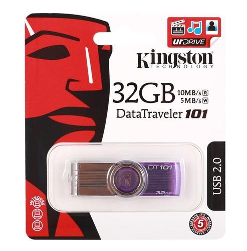 Kingston Data Traveler 101 Gen2 32GB USB2.0 Purple