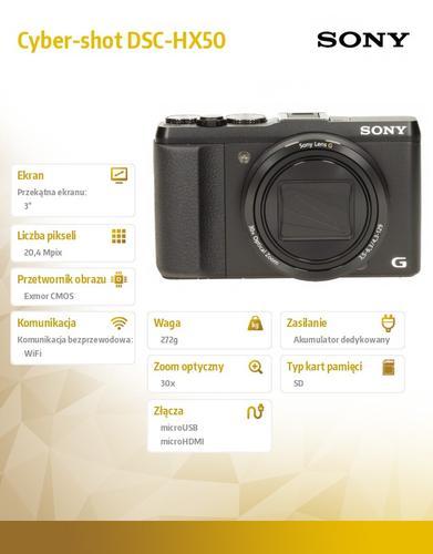 Sony Cyber-shot DSC-HX50 black