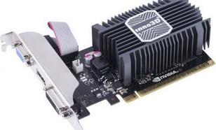 Inno3D GeForce GT 730 1GB DDR3 (64 bit) D-Sub, DVI, HDMI (N730-1SDV-D3BX)