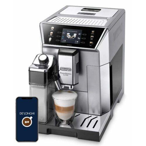 srebrny ekspres do kawy DeLonghi ECAM550.85MS