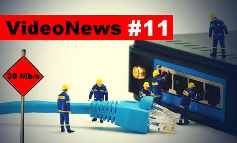 VideoNews #11 - internet w każdym polskim domu z prędkością 30mbs