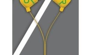 UrbanRevolt Duga In-Ear Headphone - yellow