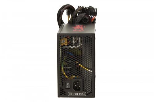 LC-Power ZASILACZ 600W LC7600 X-TYPE 80+ BRONZE V2.3 135mm 6x SATA 2x PATA 2x PCIe 8pin EPS Active PFC BLACK