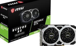 MSI GeForce GTX 1660 Ventus XS OC 6GB GDDR5 (GTX 1660 VENTUS XS 6G OC)