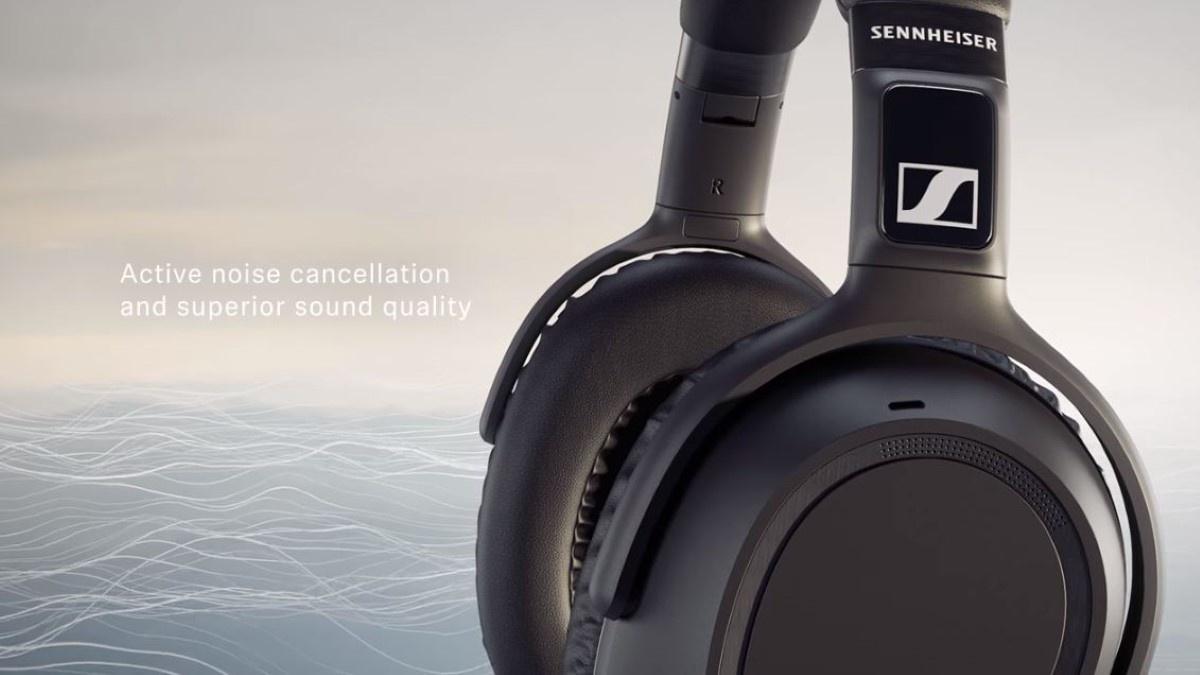 Słuchawki Sennheiser z aktywną redukcją szumów PXC 550-II