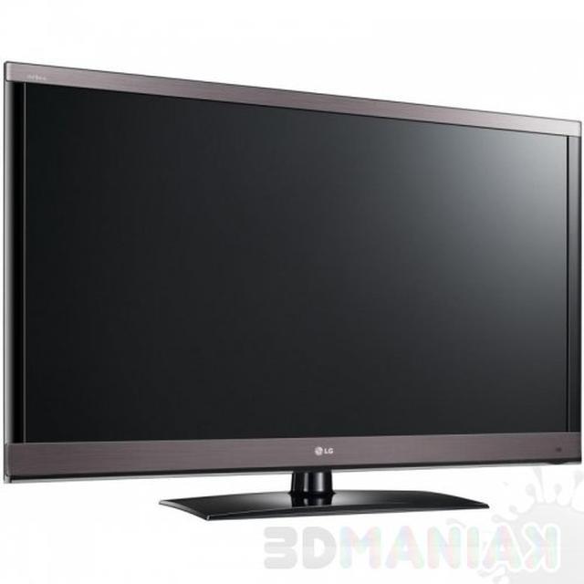 Obraz 3D z telewizorem LG 47LW570S