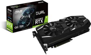 ASUS GeForce RTX 2080 Ti DUAL OC 11GB GDDR6