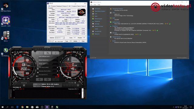 Sprawdzanie podzespołów - GPU-Z
