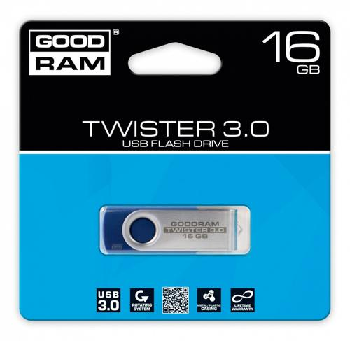 GoodRam TWISTER BLUE 16GB USB3.0
