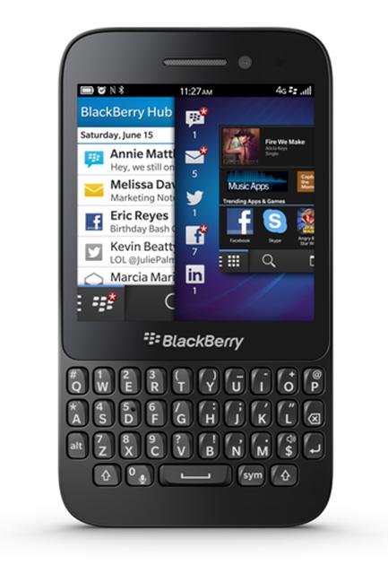 BlackBerry przedstawia BlackBerry Q5