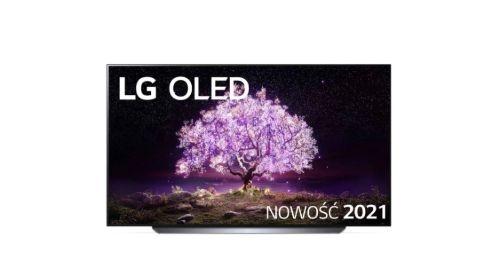 LG C1 na białym tle