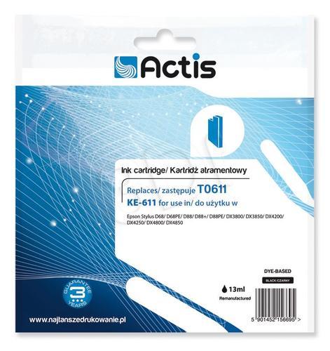 Actis KE-611 tusz czarny do drukarki Epson (zamiennik Epson T0611) Supreme
