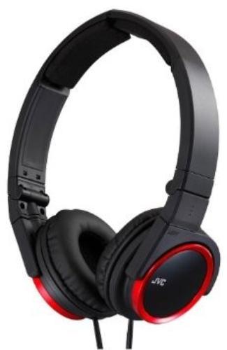 JVC Słuchawki HA-S400 red