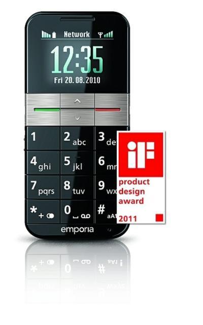Emporia Telecom zdobywa uznanie jury konkursu  iF Product Design Award