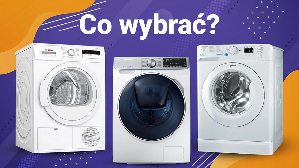 Pralka vs pralko-suszarka vs suszarka - Co wybrać?