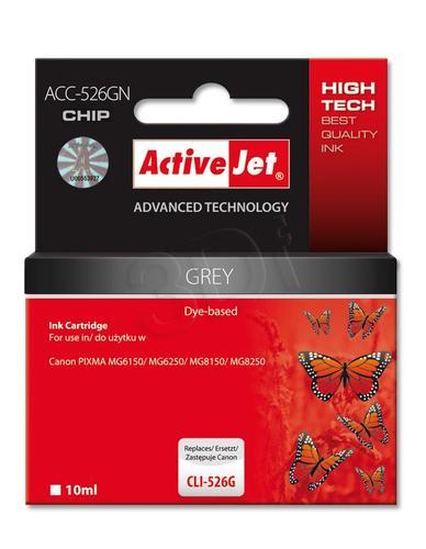 ActiveJet ACC-526GN tusz grey do drukarki Canon (zamiennik Canon CLI-526G) Supreme/ chip