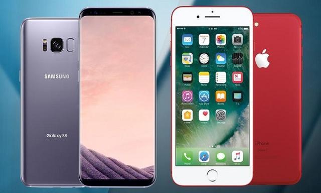 Samsung Galaxy S8 VS iPhone 7 - Pierwszy Test Wytrzymałościowy!