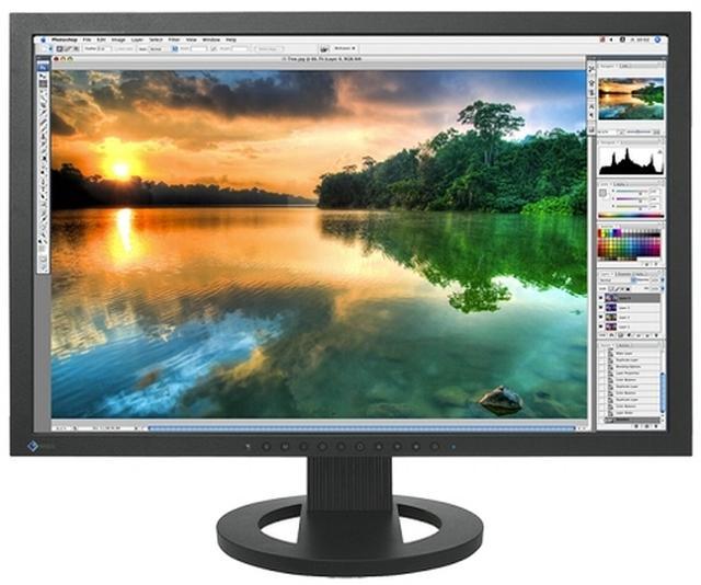 EIZO ColorEdge CG245W - narzędzie dla grafika