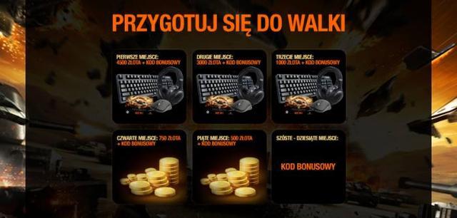 Konkurs organizowany przez SteelSeries oraz Wargaming.net - atrakcyjne nagrody do wygrania! :)
