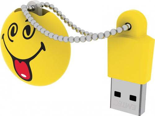 EMTEC Pendrive 8GB Smilley World Silly SW106