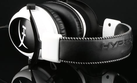 HyperX Cloud White - Słuchawki Dla Graczy W Eleganckiej Bieli