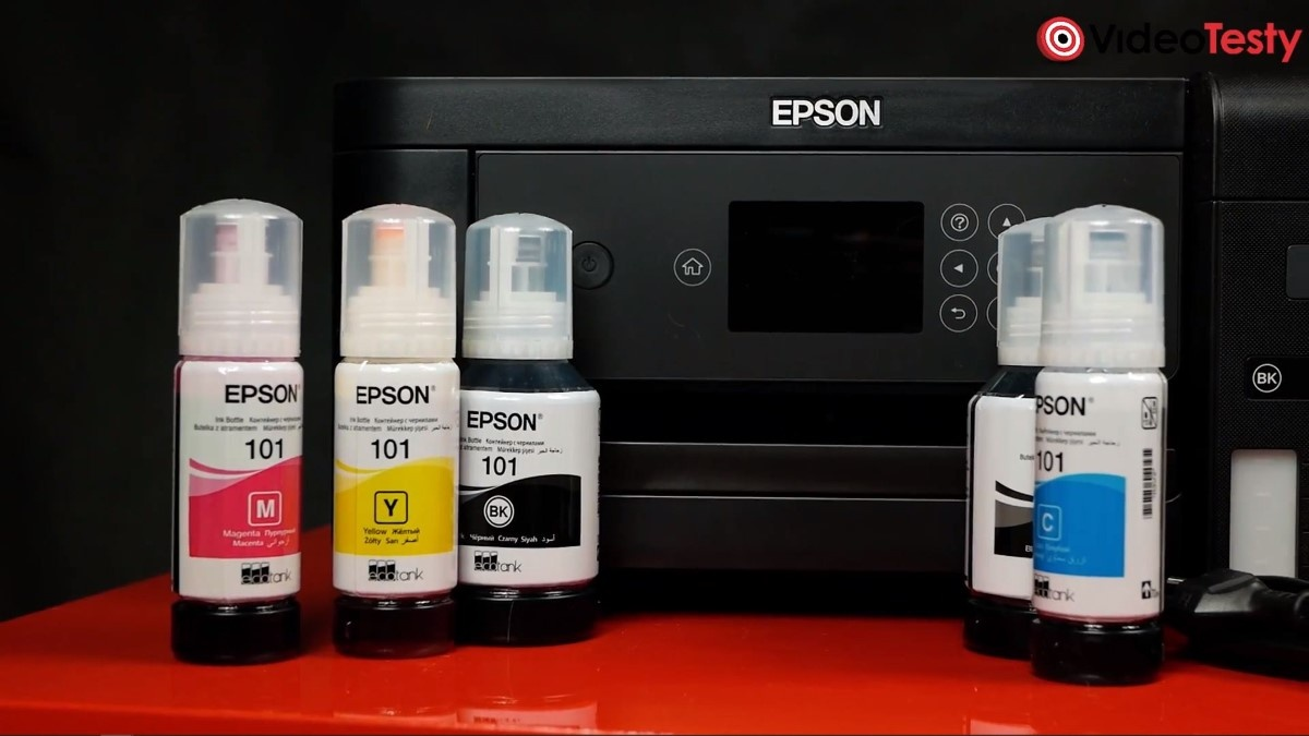 Epson Ecotank L4160 z atramentami