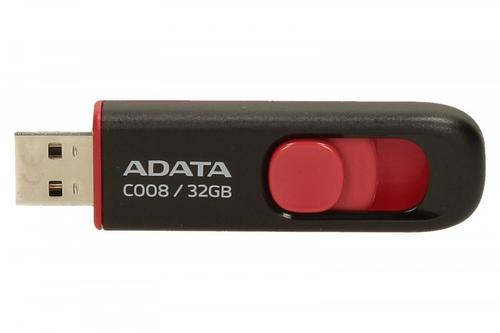 A-Data DashDrive Classic C008 32GB USB2.0 czarno-czerwone