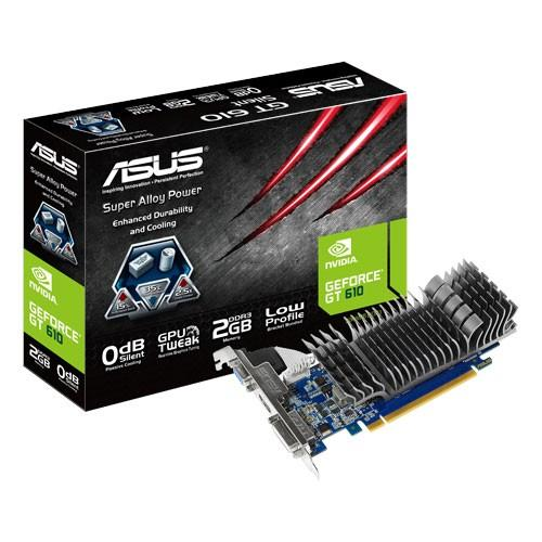 Asus GeForce CUDA GT610 2GB DDR3 PCI-E 64BIT DVI/HDMI/D-SUB BOX