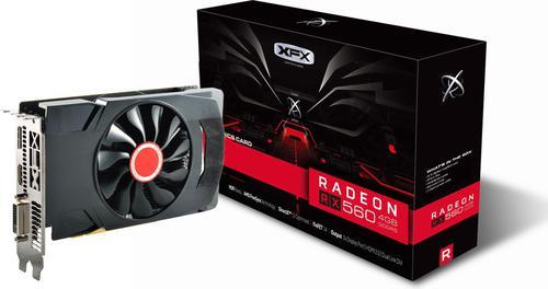 XFX Radeon RX 560 4GB GDDR5 (128 bit), DVI-D, HDMI, DisplayPort, BOX