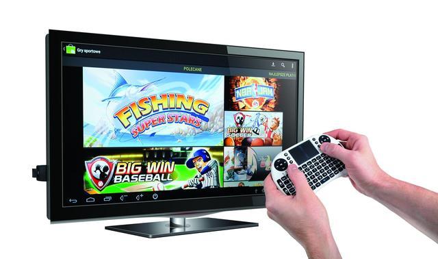 Rozszerz możliwości swojego telewizora, i stwórz z niego domowe centrum rozrywki