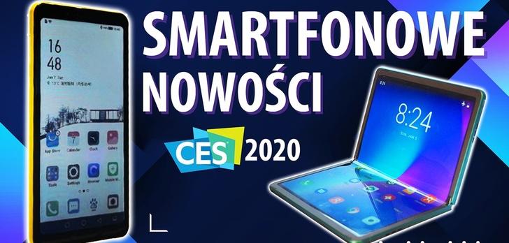Najlepsze smartfony z targów CES 2020 w Las Vegas!