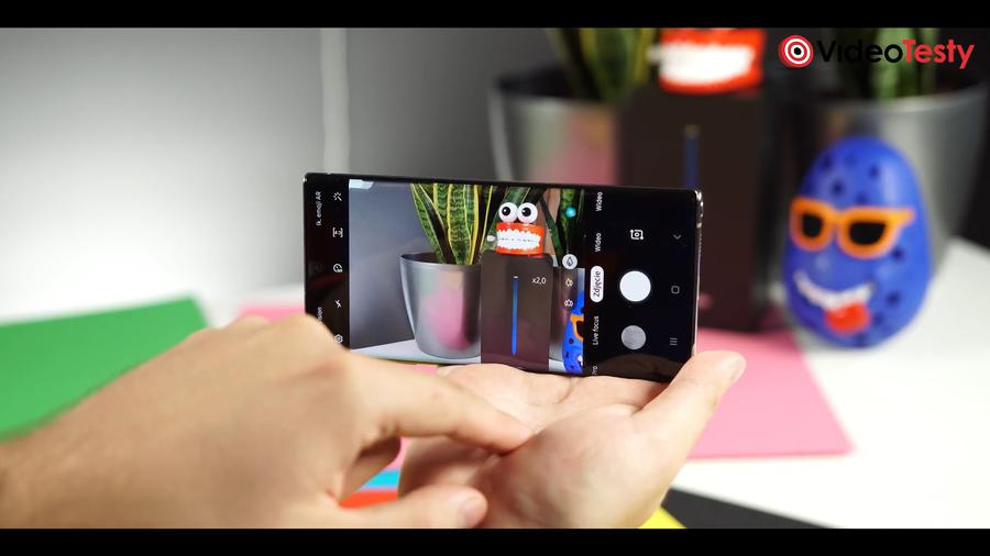 Samsung Galaxy Note 10+ aplikacja do zdjęć z wieloma opcjami