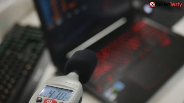 AsusF X503VD Głosność pracy