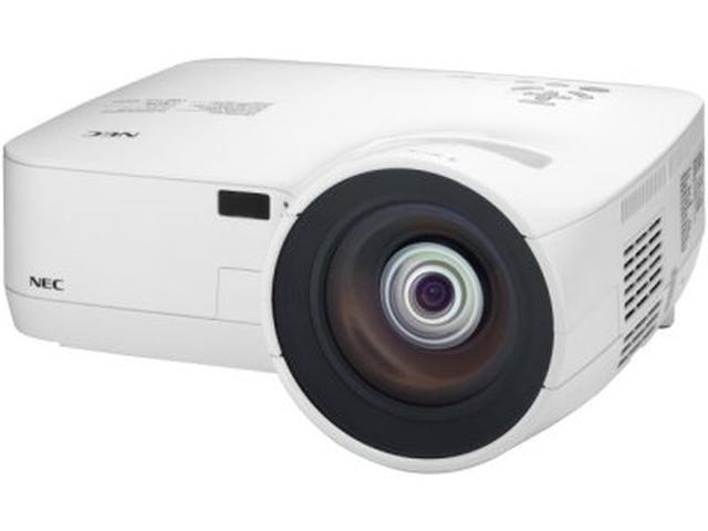 NEC prezentuje dwa projektory krótkoogniskowe z wirtualnym pilotem