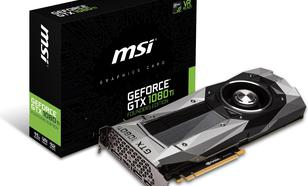 MSI GeForce GTX 1080 Ti Founders Edition 11GB GDDR5X (352 bit), HDMI, 3x DP, BOX